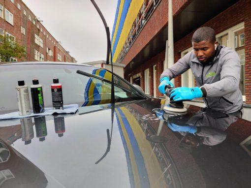 Auto poetsen polijsten coaten